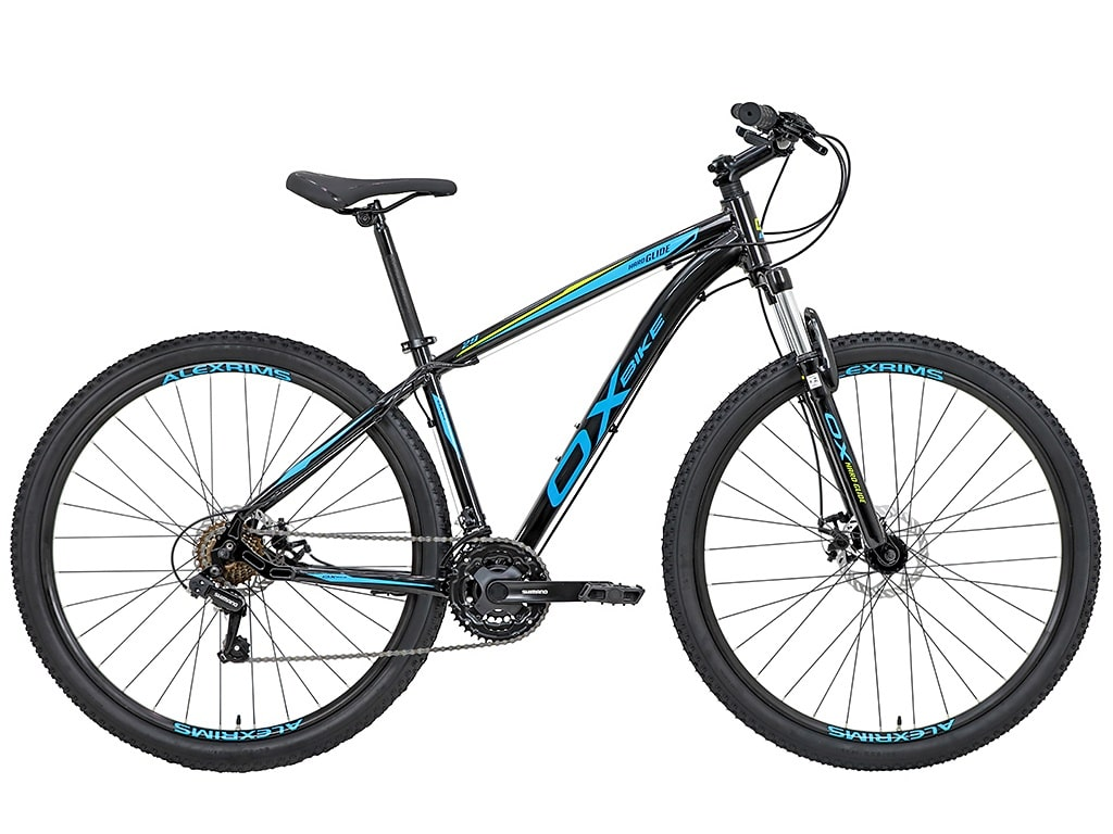 Bike Oggi OX Glide 2020 21v Shimano Preto e Azul
