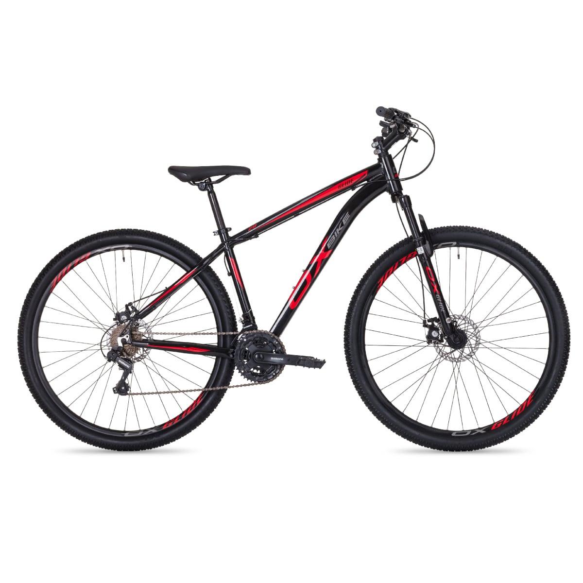 Bike Oggi OX Glide 2020 21v Shimano Preto Vermelho