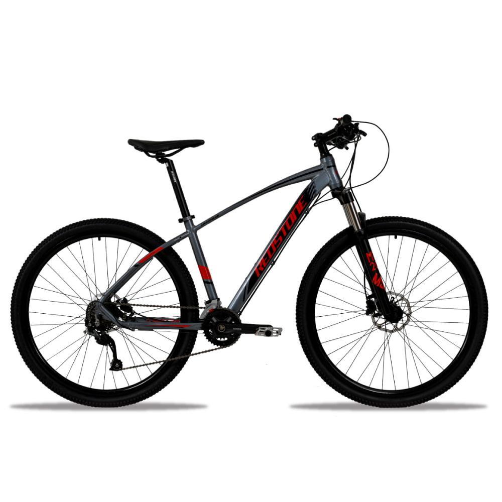 Bike Redstone Aro 29 Aborygen 18V Grafite Vermelho