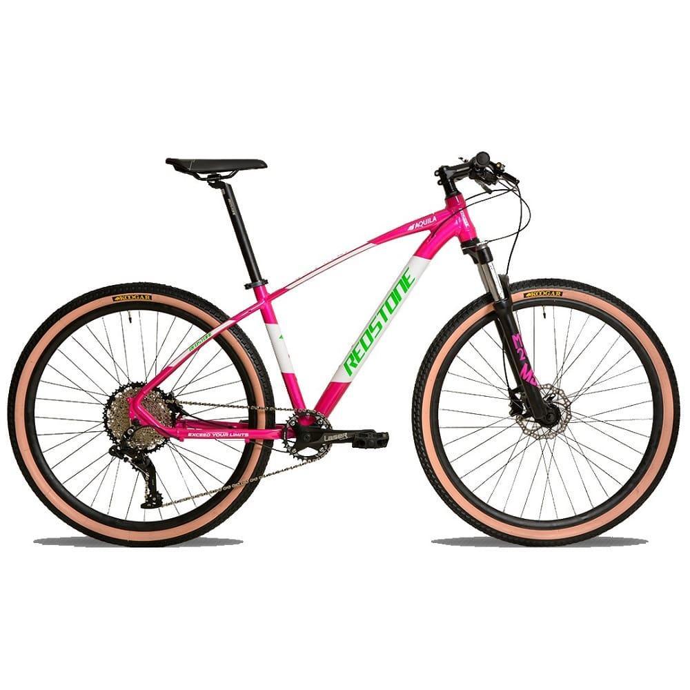 Bike Redstone Aro 29 Aquila 27V Micronew Rosa Verde