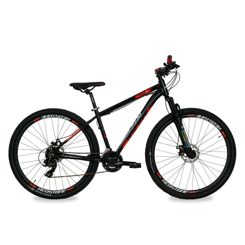 Bike Redstone Aro 29 Taipan 27V Preto Vermelho