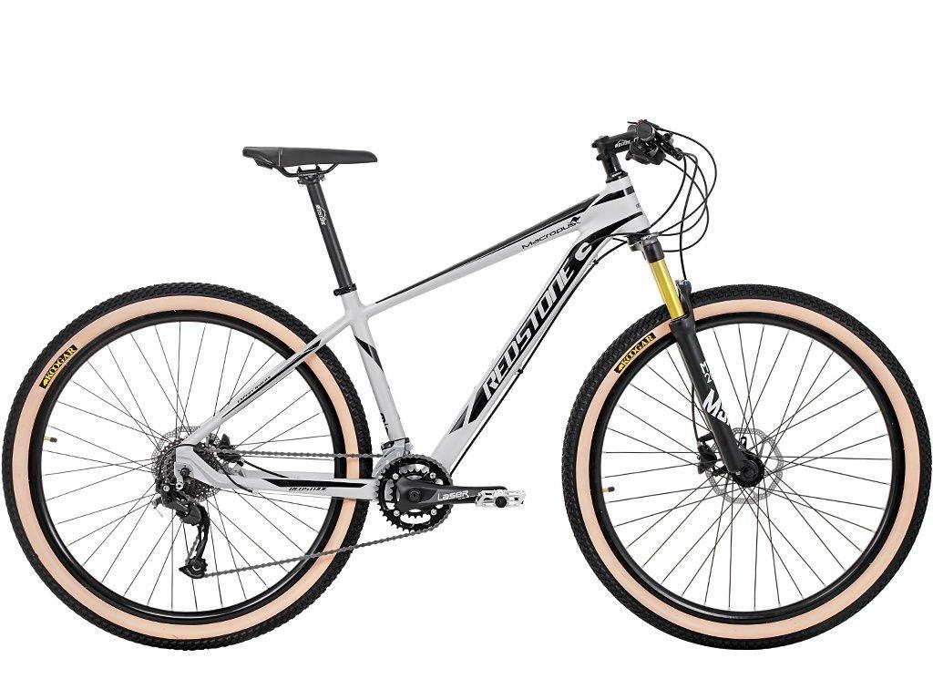 Bike Redstone Macropus 2021 Aro 29 18 V Prata Preto