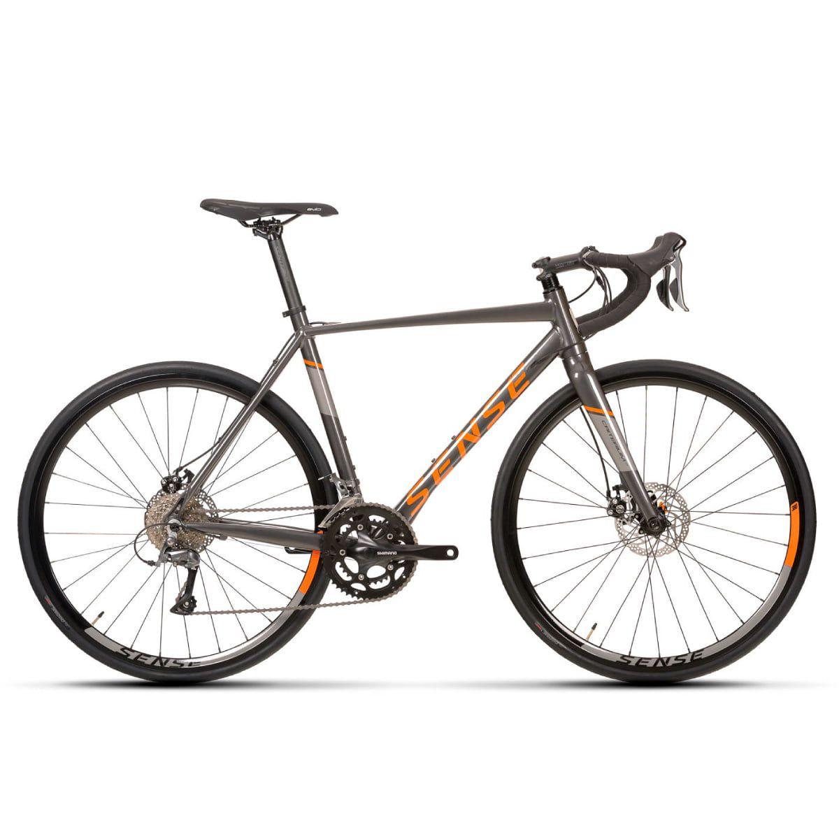 Bike Sense Criterium Comp 2020 Shimano Claris 2x8v Aro 700 Freio Disco