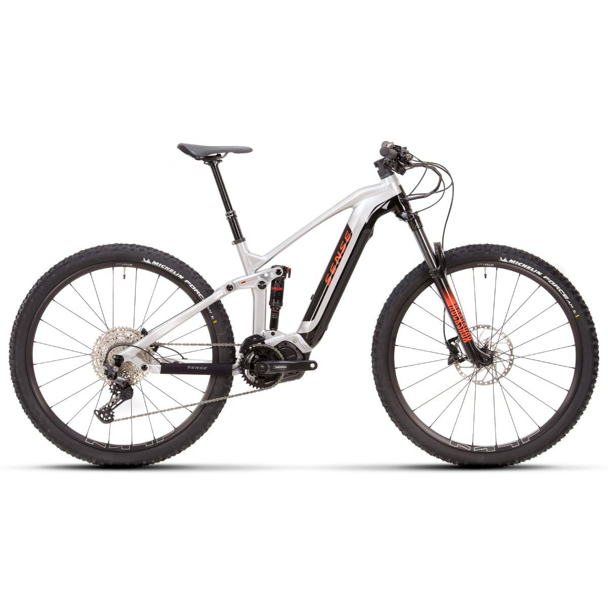 Bike Sense Eletrica Impulse E-Trail Comp 2021 Shimano Deore 12v Aluminio e Laranja