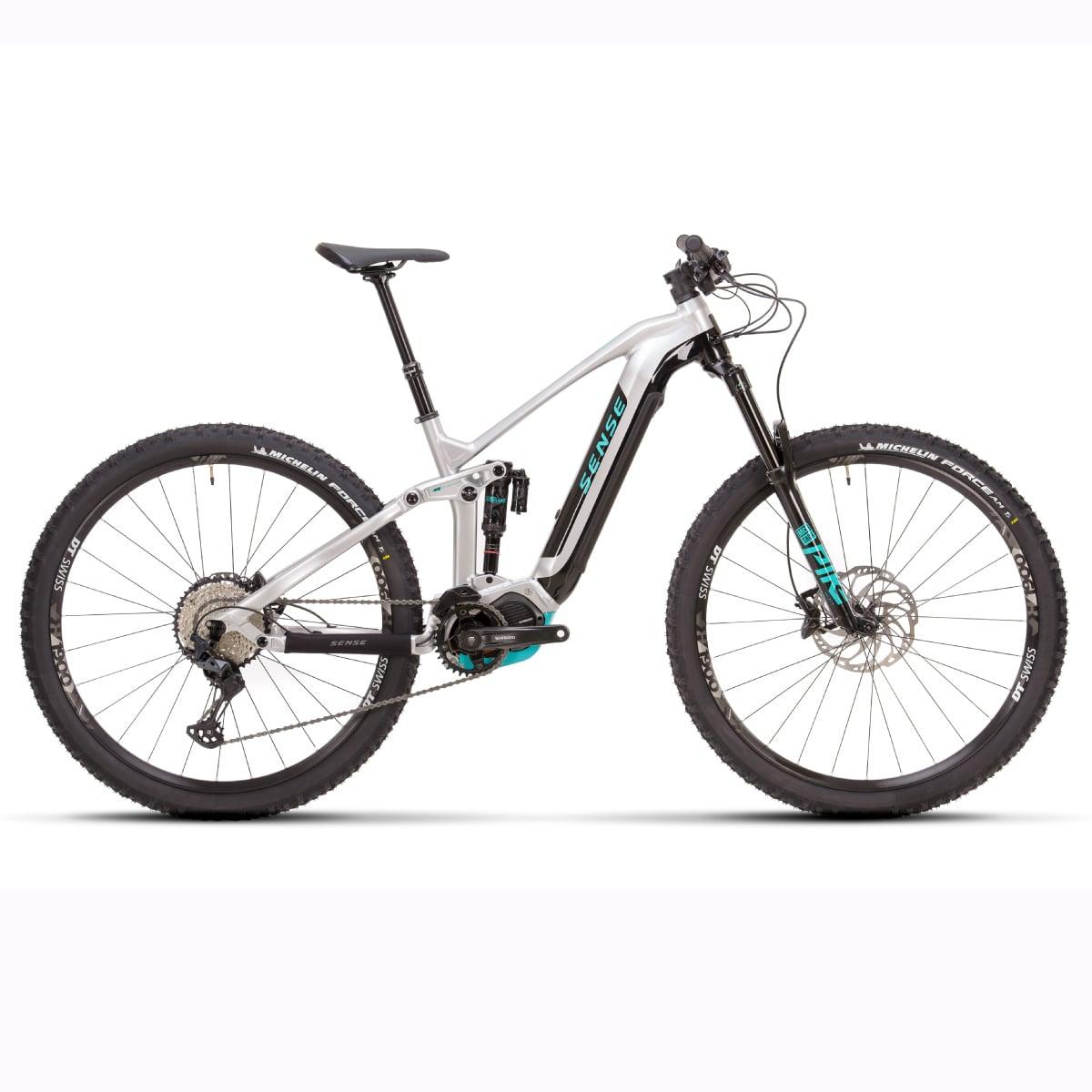 Bike Sense Eletrica Impulse E-Trail Evo 2021 SLX 12V Aluminio e Aqua