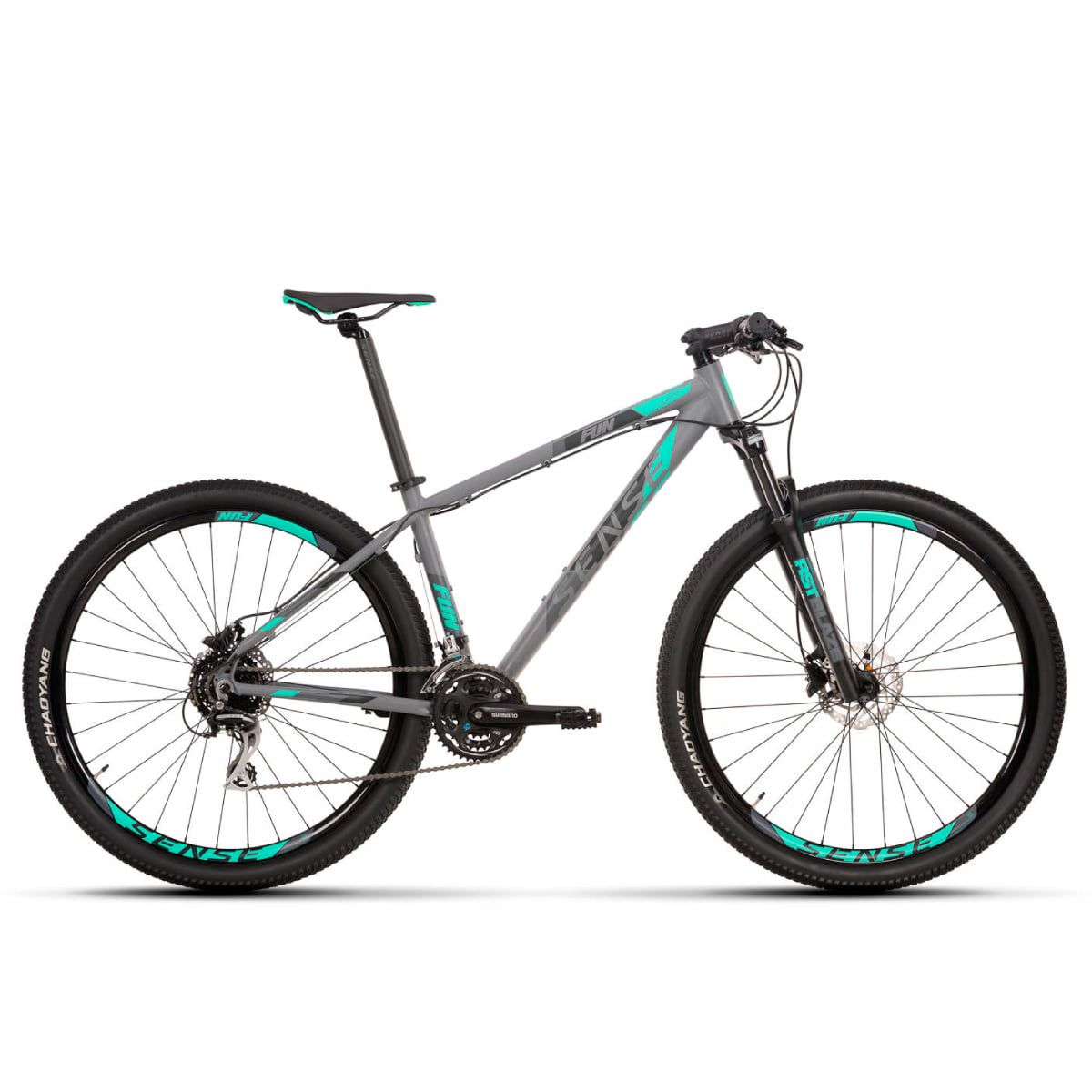 Bike Sense Fun 2020 24V Shimano Acera Hidráulico