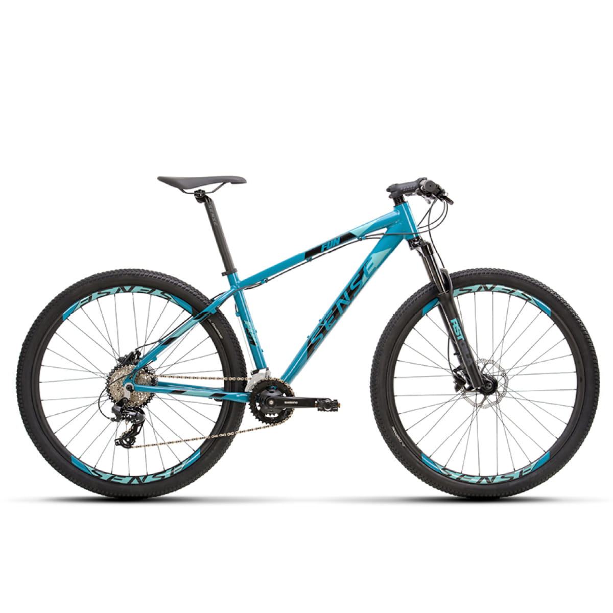 Bike Sense Fun Comp 2021 Aqua Preto