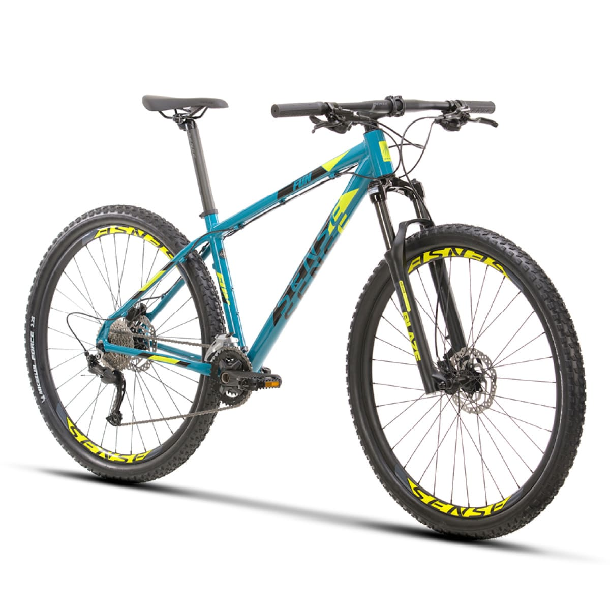 Bike Sense Fun Evo 2021 Aqua Amarelo