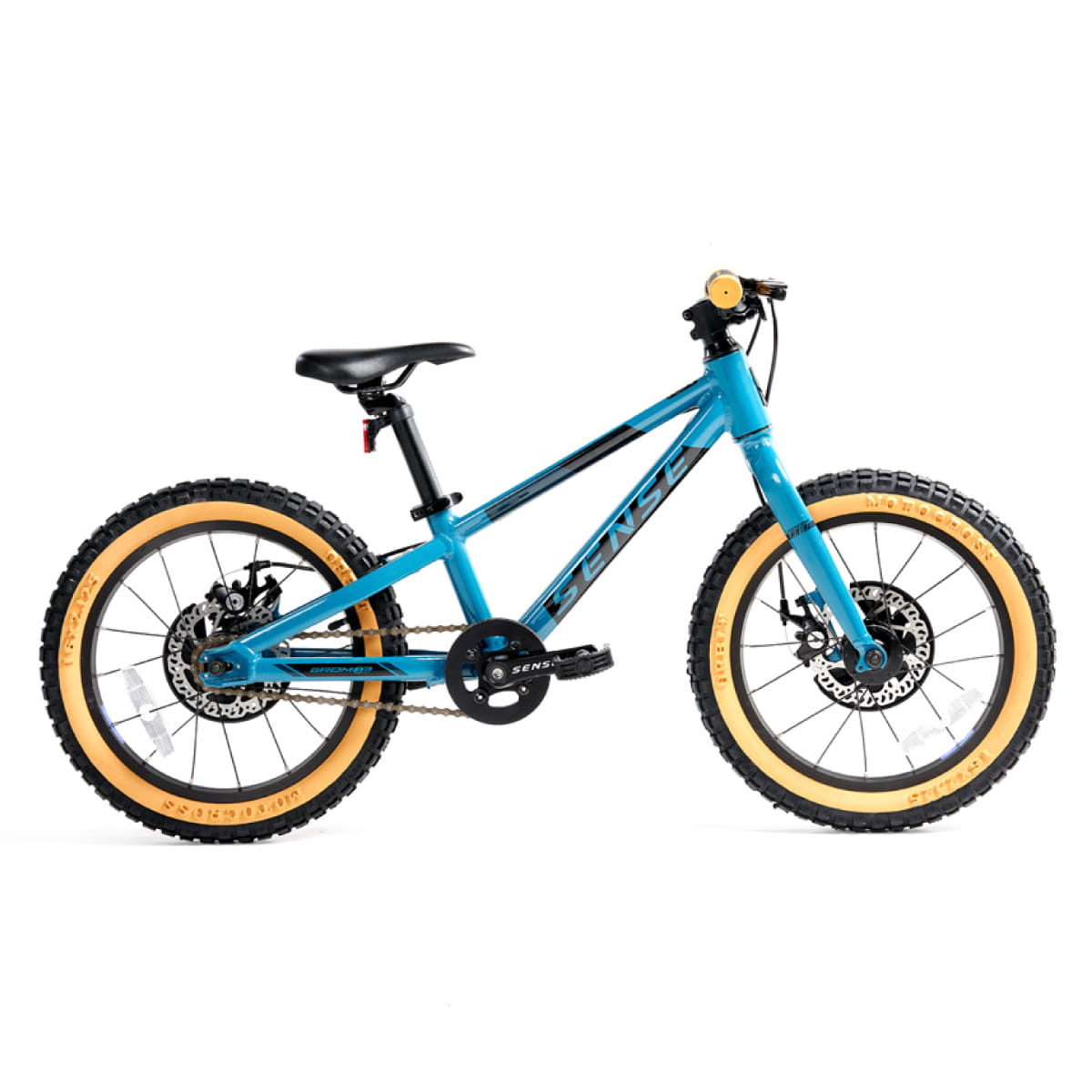 Bike Sense Grom 2021 Aro 16 Aqua Preto