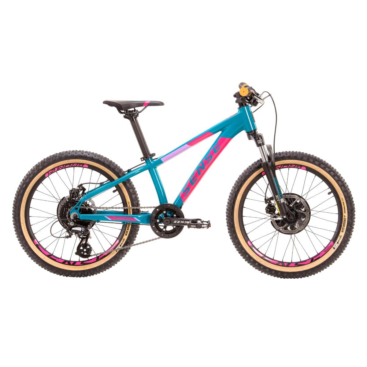Bike Sense Grom 20 2021 Shimano 8v Aqua e Rosa
