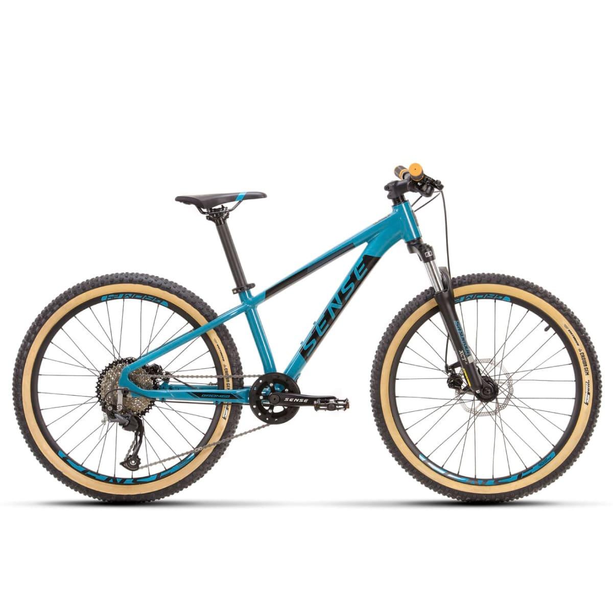 Bike Sense Grom 24 2021 Shimano 9v Aqua e Preto