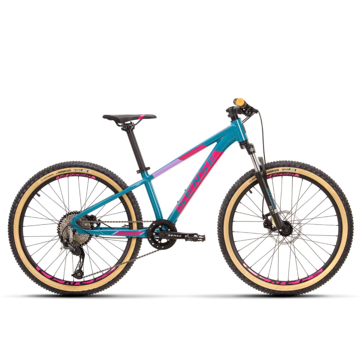 Bike Sense Grom 24 2021 Shimano 9v Aqua e Rosa