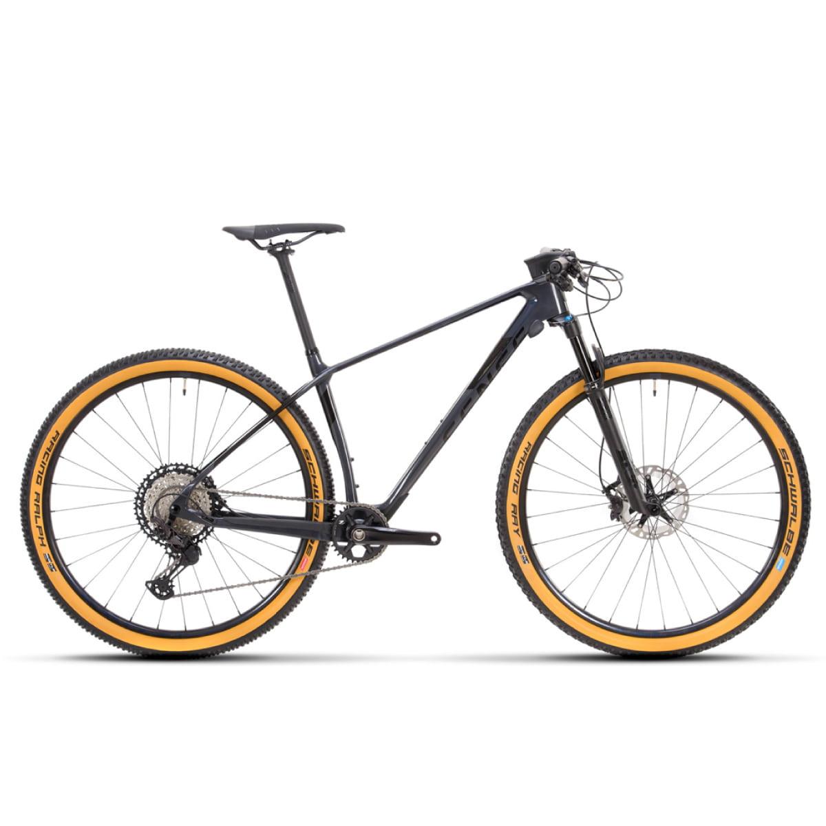 Bike Sense Impact Carbon Evo 2021 Shimano XT 12v cinza e Preto
