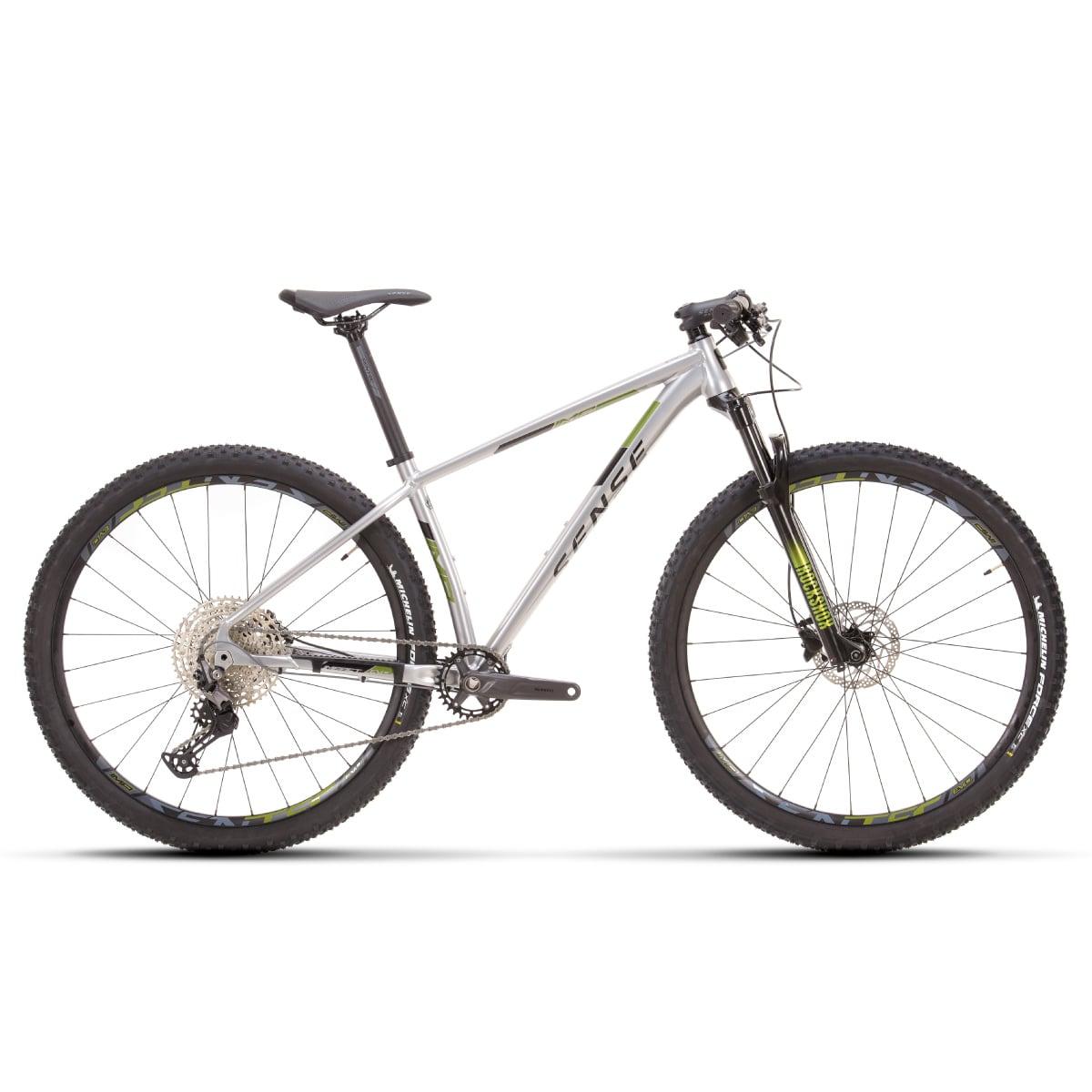 Bike Sense Impact Evo 2021 Shimano Deore 12v Aluminio e Verde