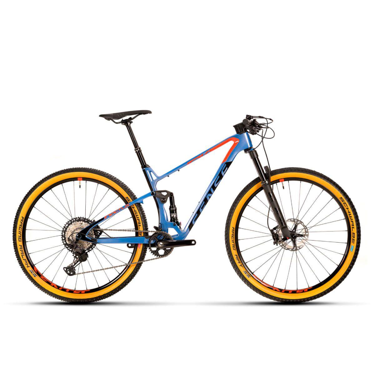 Bike Sense Invictus Evo 2020 Full Supension Shimano XT 12v Aro 29