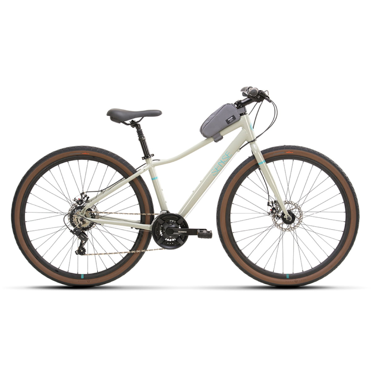 Bike Sense Move Fitness 2021 Cinza Aqua
