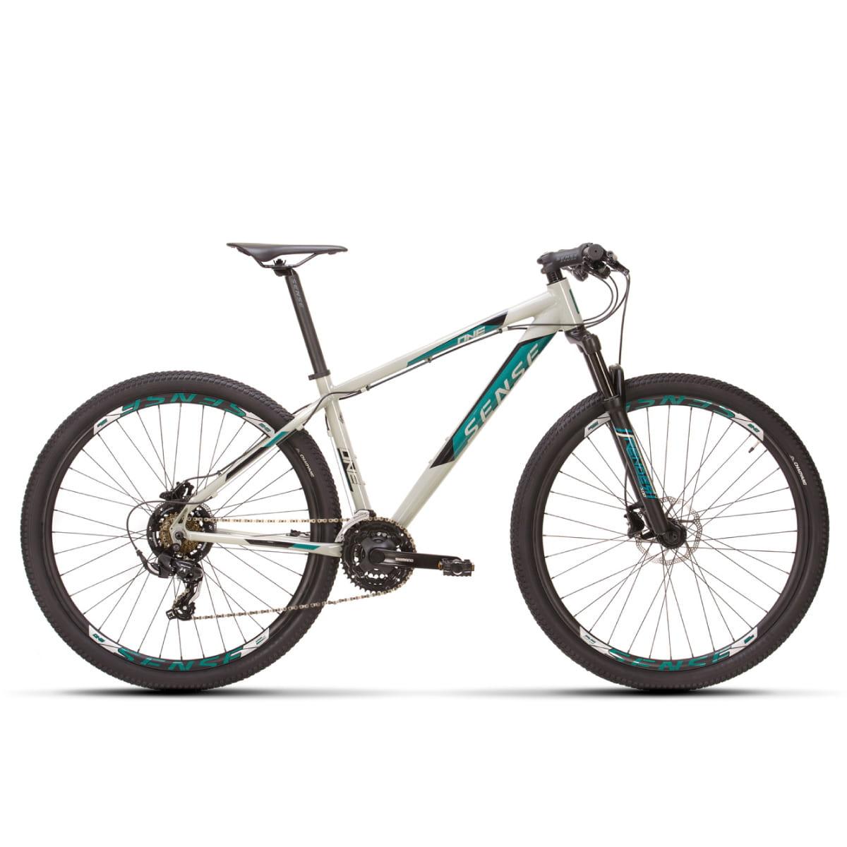 Bike Sense One 2021 21 Velocidades Cinza e Azul