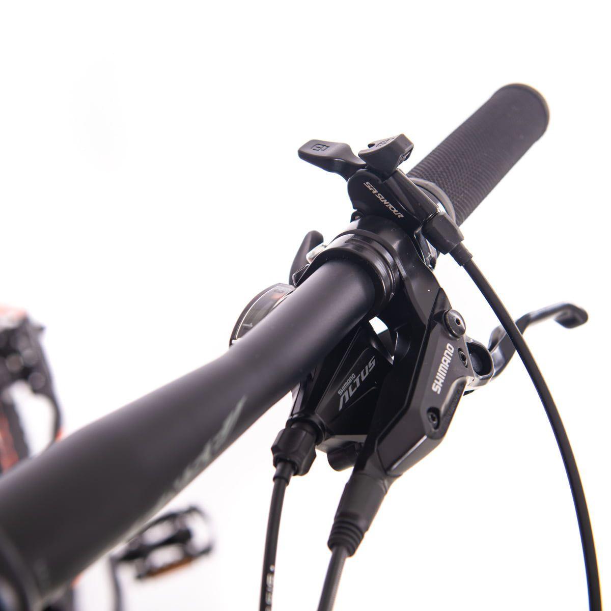 Bike Sense Rock Evo Original Shimano Altus 27v Hidráulico