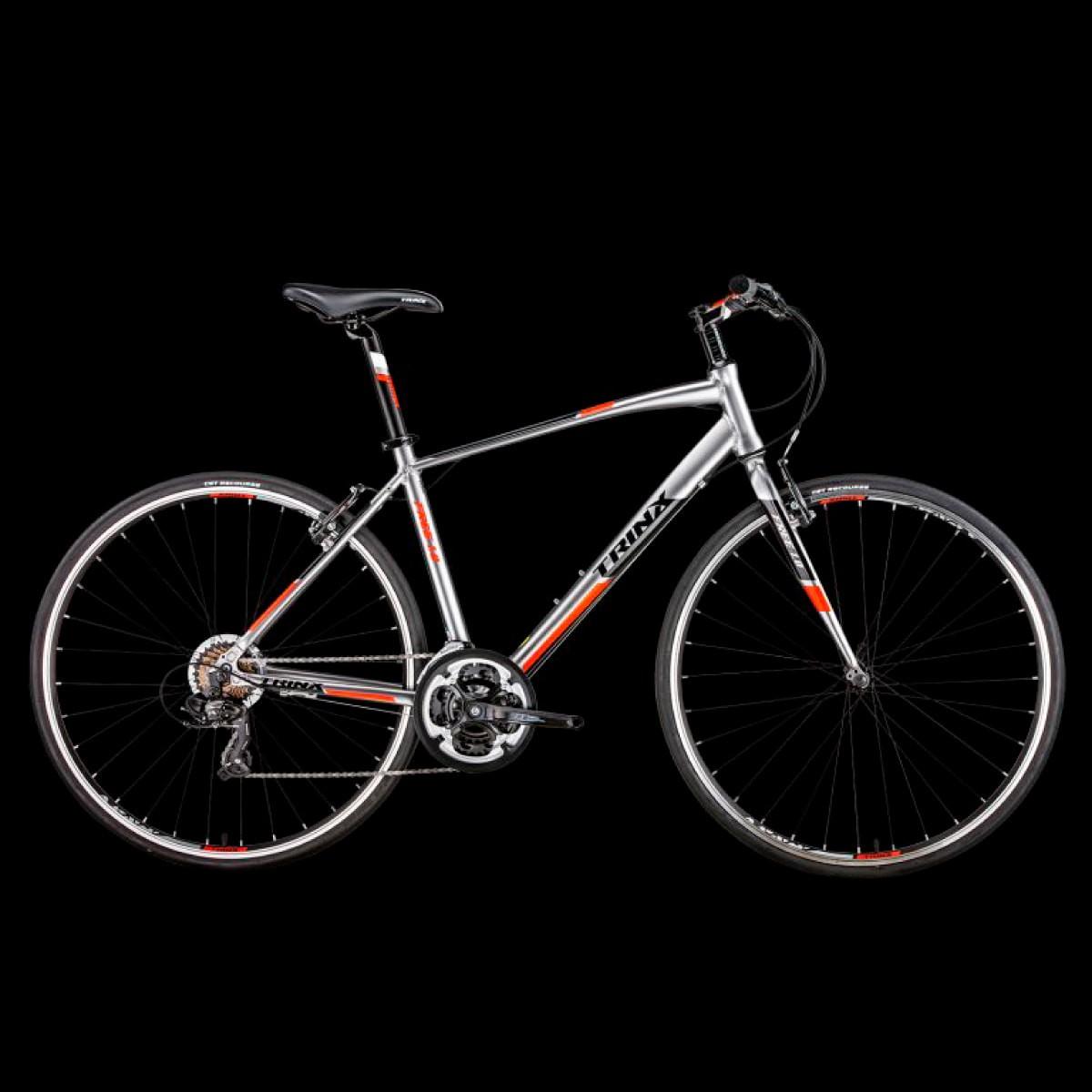 Bike Trinx Free 1.0 2020 21v Shimano Prata Vermelho