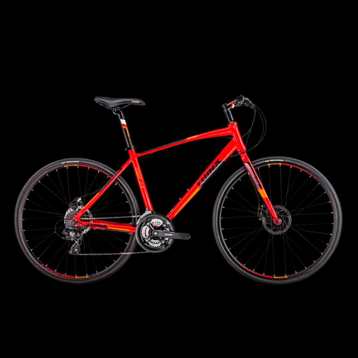 Bike Trinx Free 2.0 2020 24v Shimano Vermelho Laranja