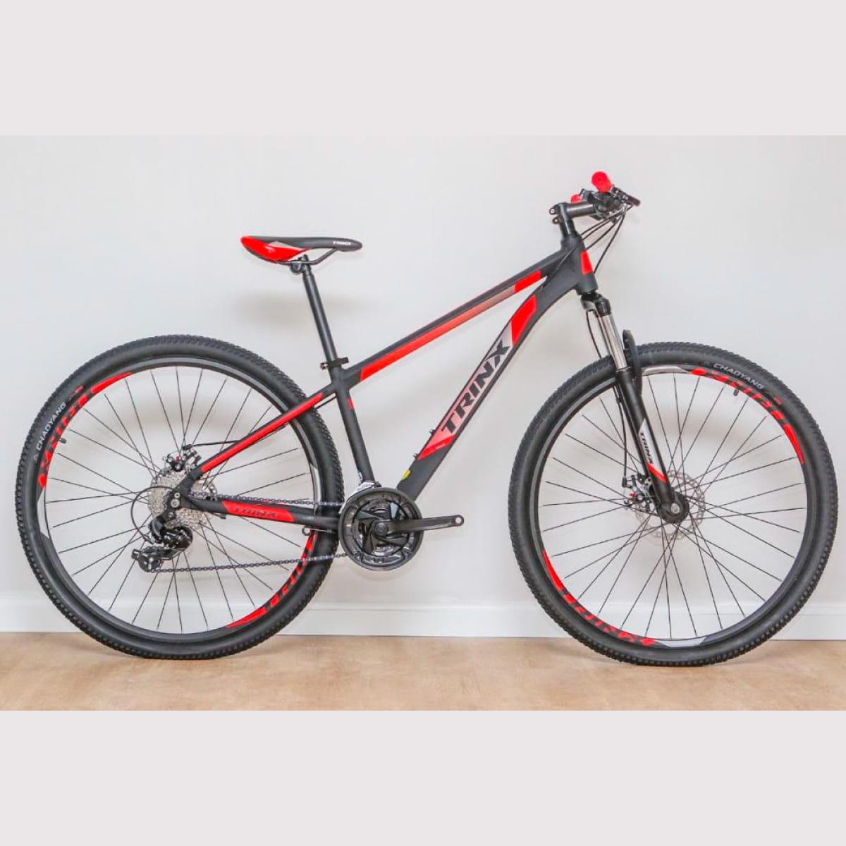 Bike Trinx M100 Max 2020 24v Shimano Vermelho