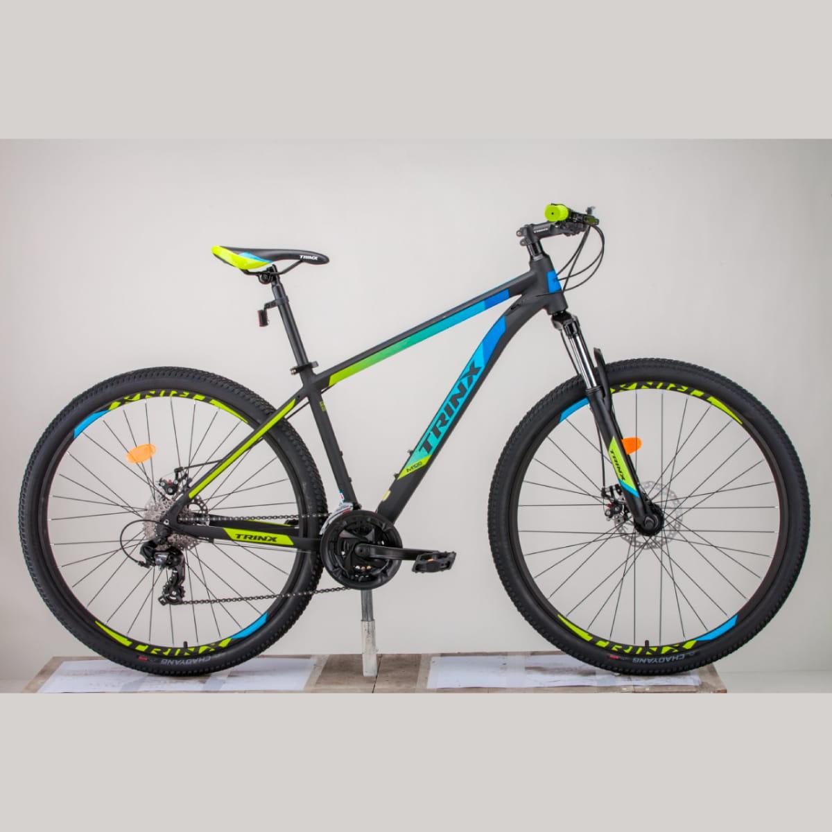Bike Trinx M100 Max 2020 24v Shimano Azul Amarelo