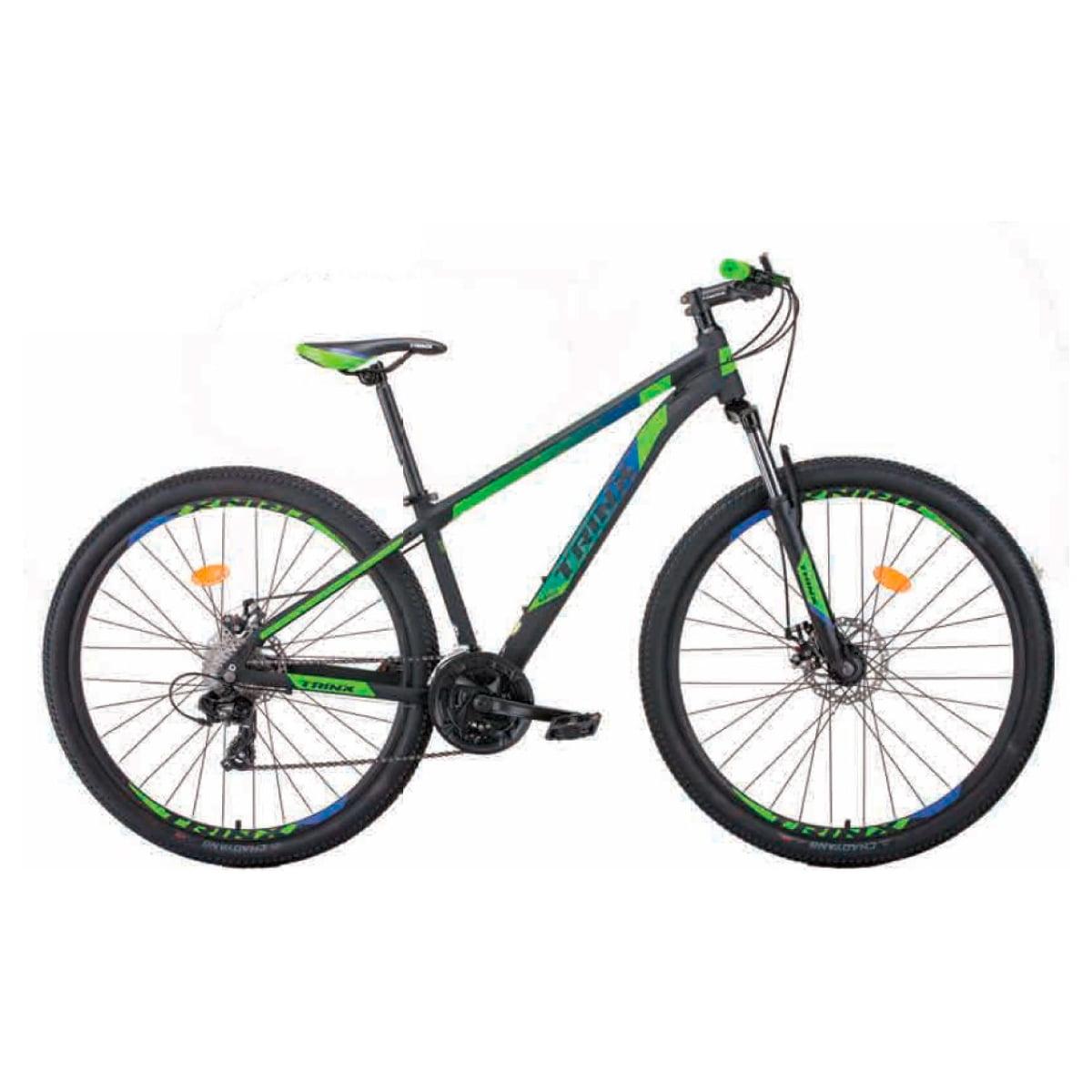 Bike Trinx M100 Max 2020 24v Shimano Verde Azul