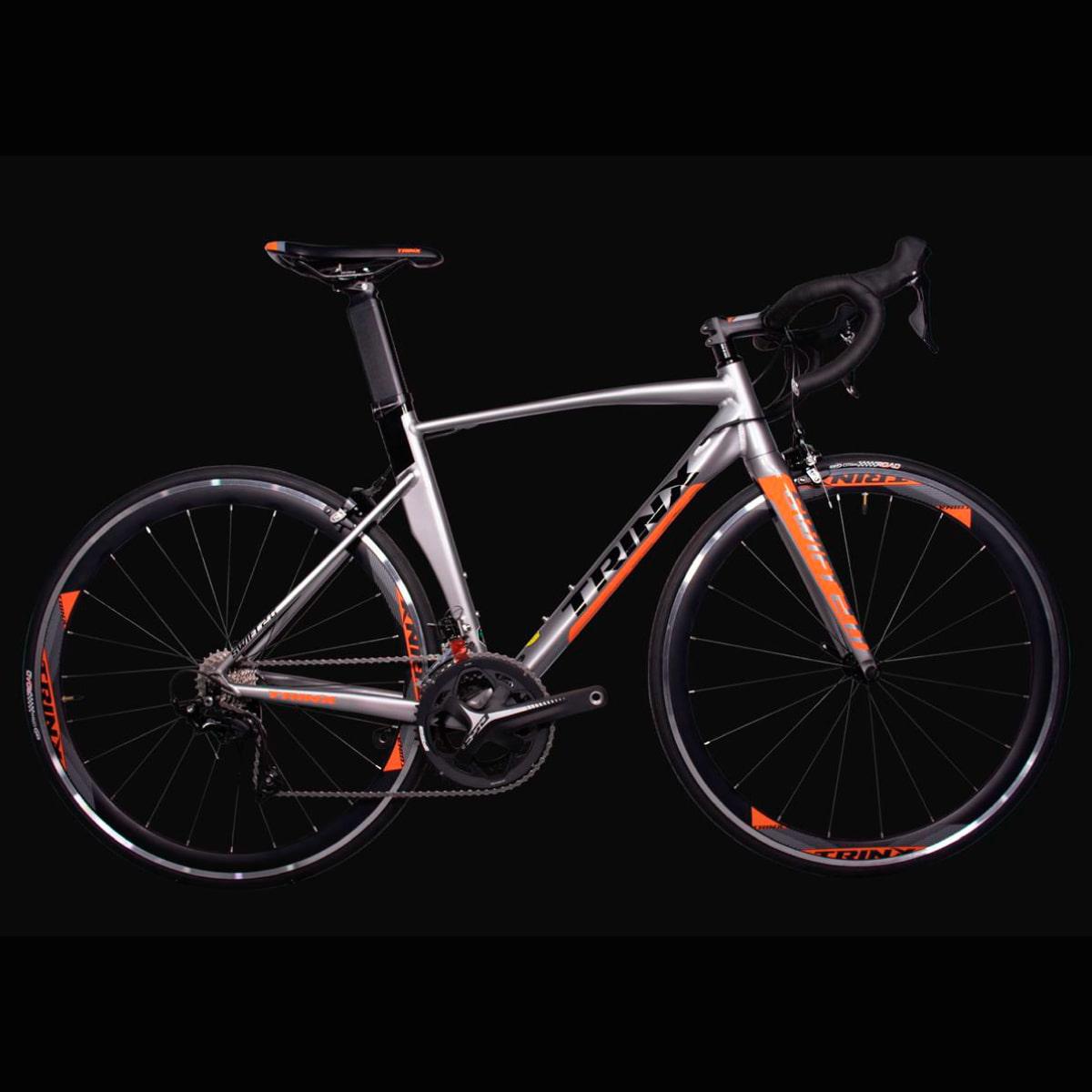 Bike Trinx Swfit 2.0 2020 22v Shimano Cinza Laranja