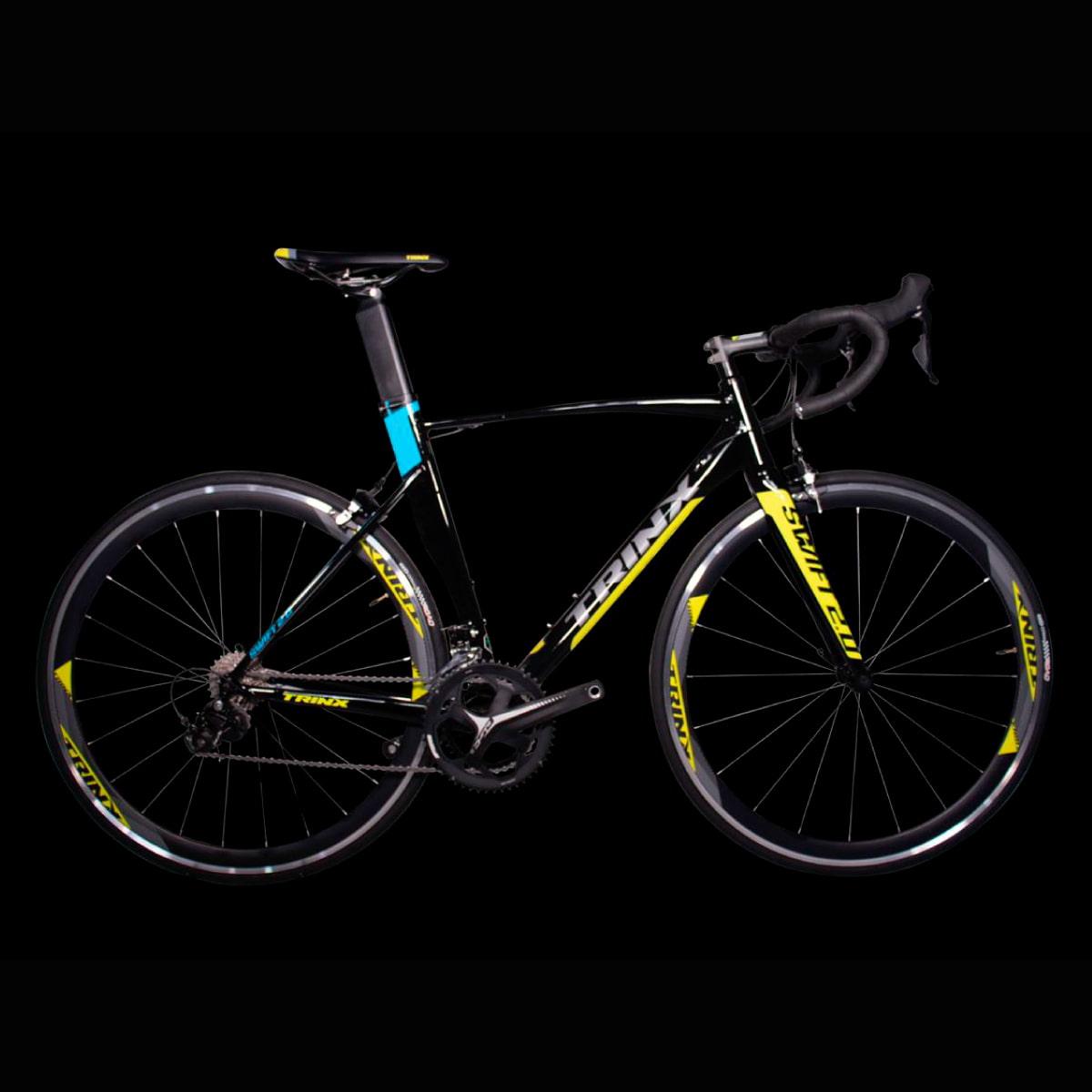 Bike Trinx Swfit 2.0 2020 22v Shimano Preto Amarelo