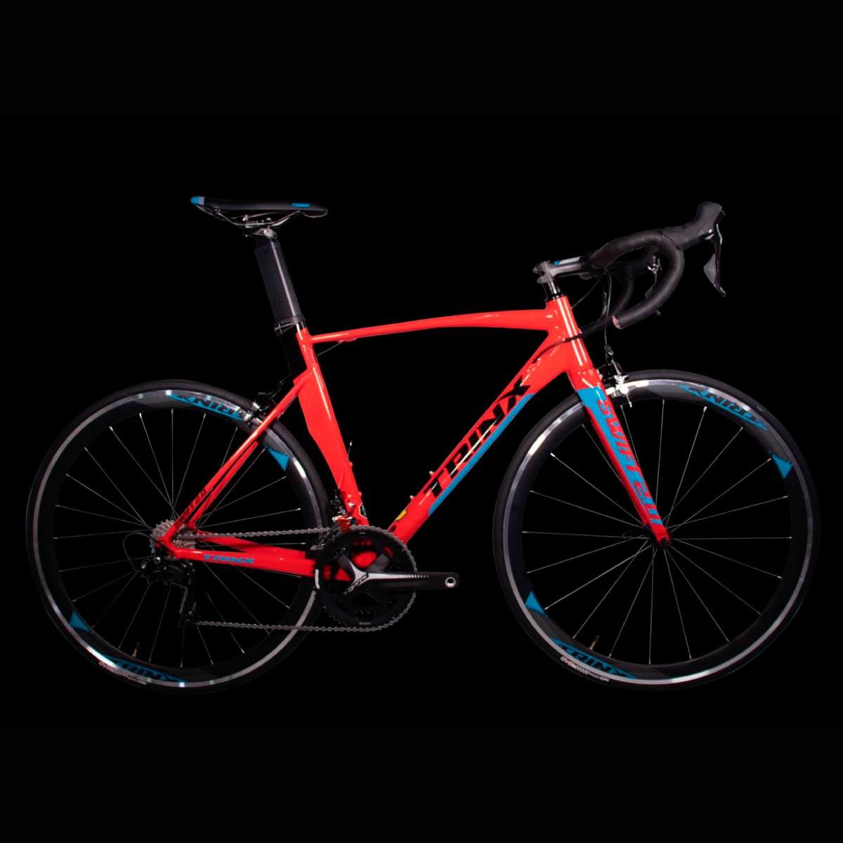 Bike Trinx Swft 2.0 2020 22v Shimano Vermelho Azul