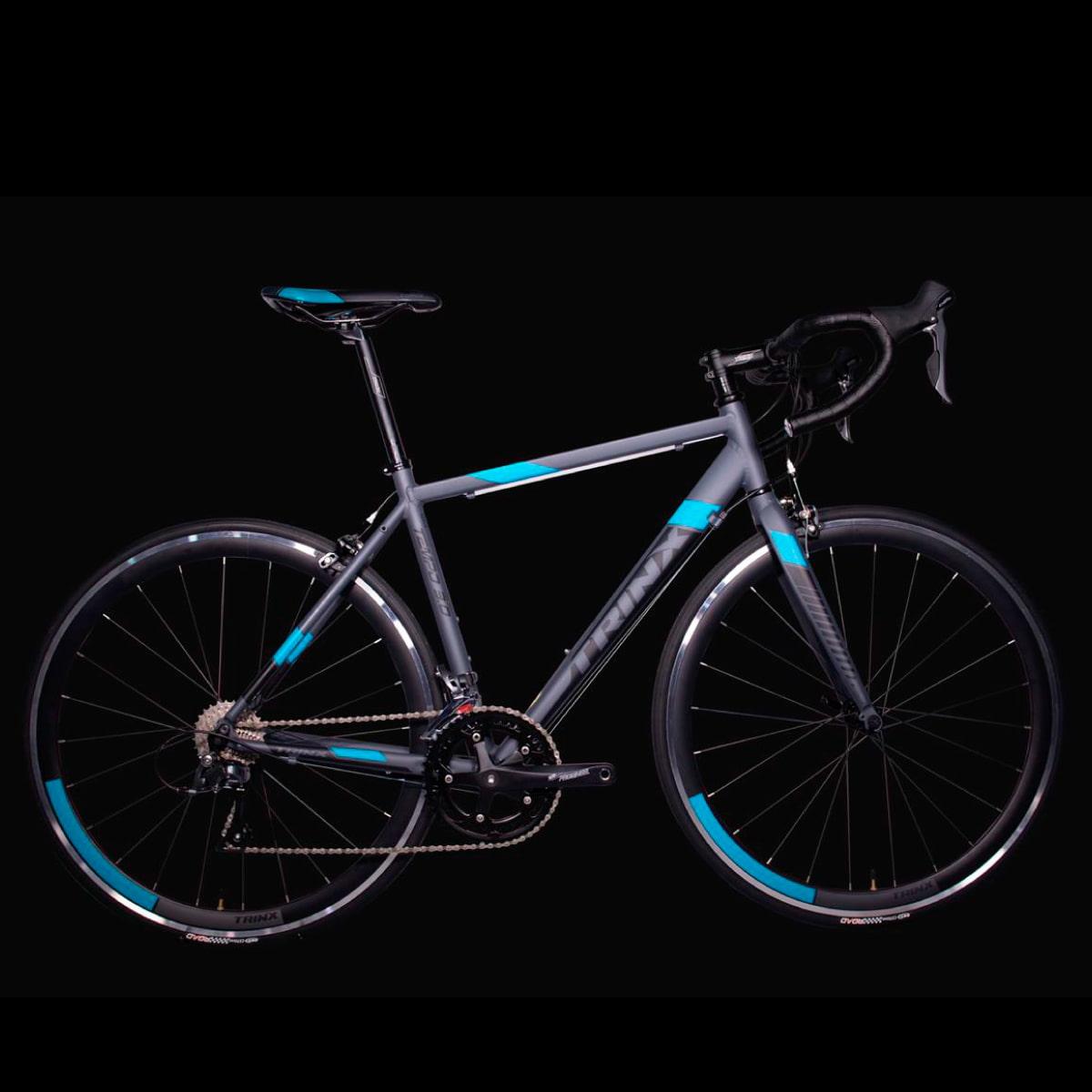 Bike Trinx Tempo 3.0 2020 16v Shimano Preto Azul