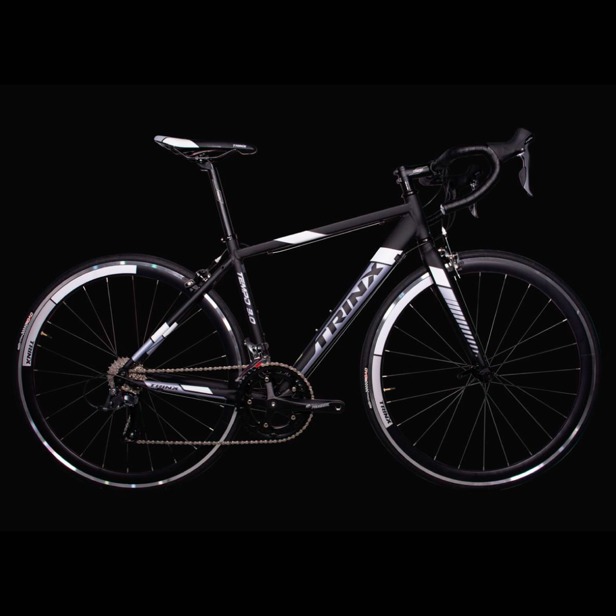 Bike Trinx Tempo 3.0 2020 16v Shimano Preto Branco