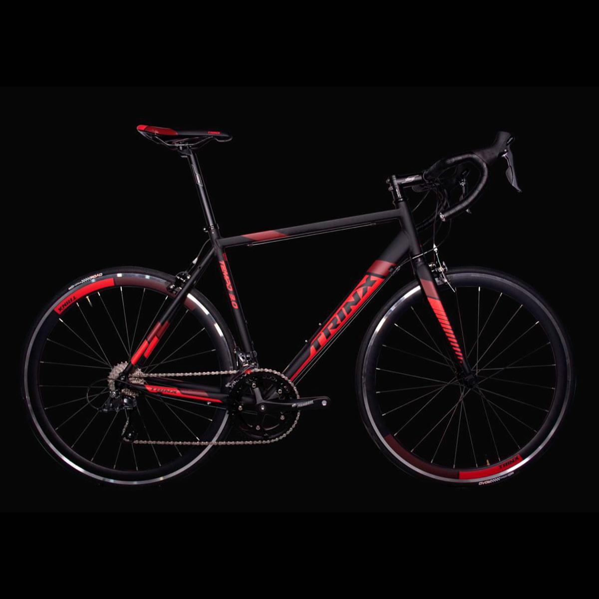 Bike Trinx Tempo 3.0 2020 16v Shimano Preto Vermelho