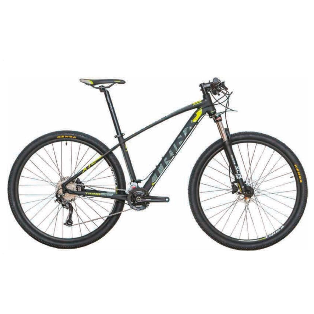Bike Trinx X1 Pro 2020 18v Shimano Cinza Amarelo