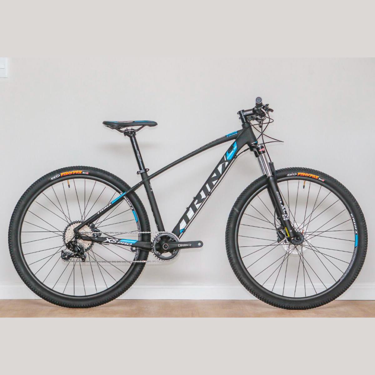Bike Trinx X8 Pro 2020 11v Sram Preto Azul