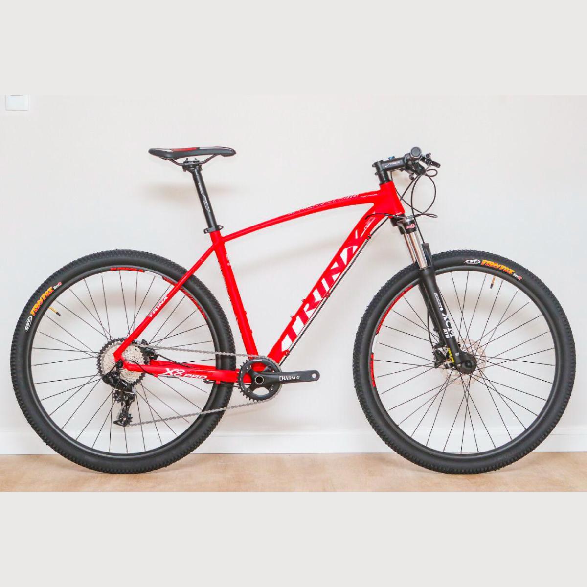 Bike Trinx X8 Pro 2020 11v Sram Vermelho Branco
