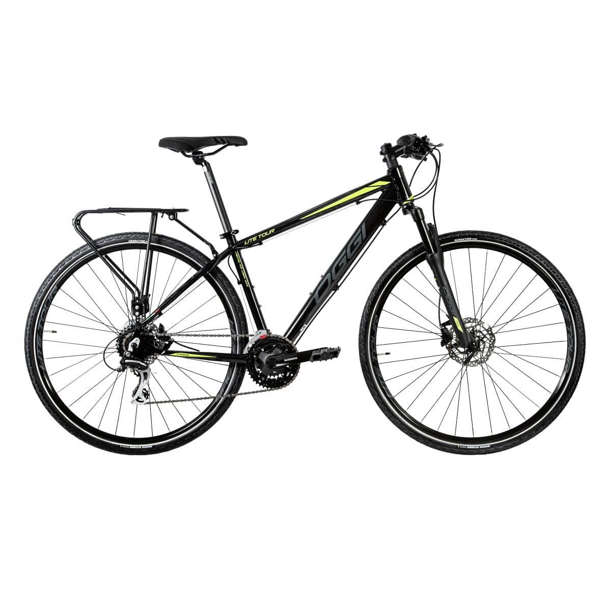 Bike Urbana Oggi Lite Tour 2020 Original 24v Freio Hidráulico