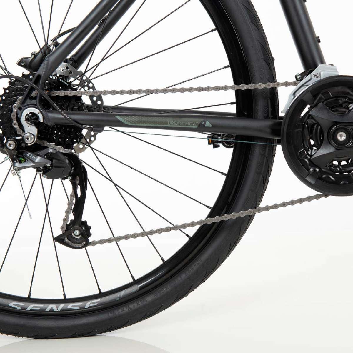 Bike Urbana Sense Activ 2020 27V Shimano Altus Freio Hidráulico
