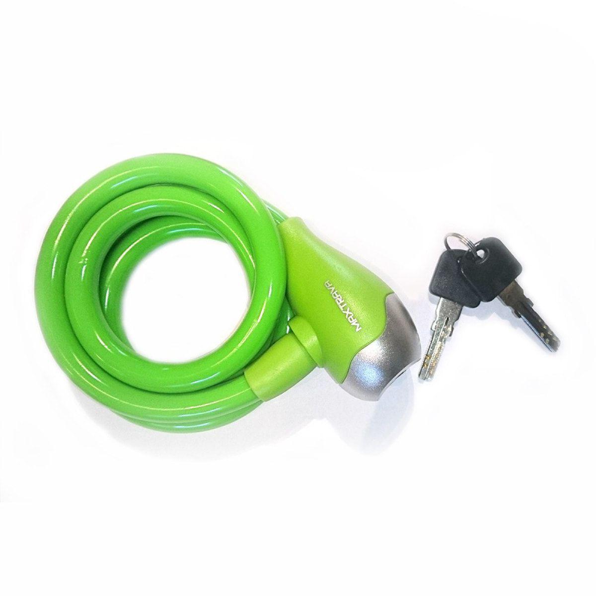 Cadeado Max Trava com Chave Grosso Verde