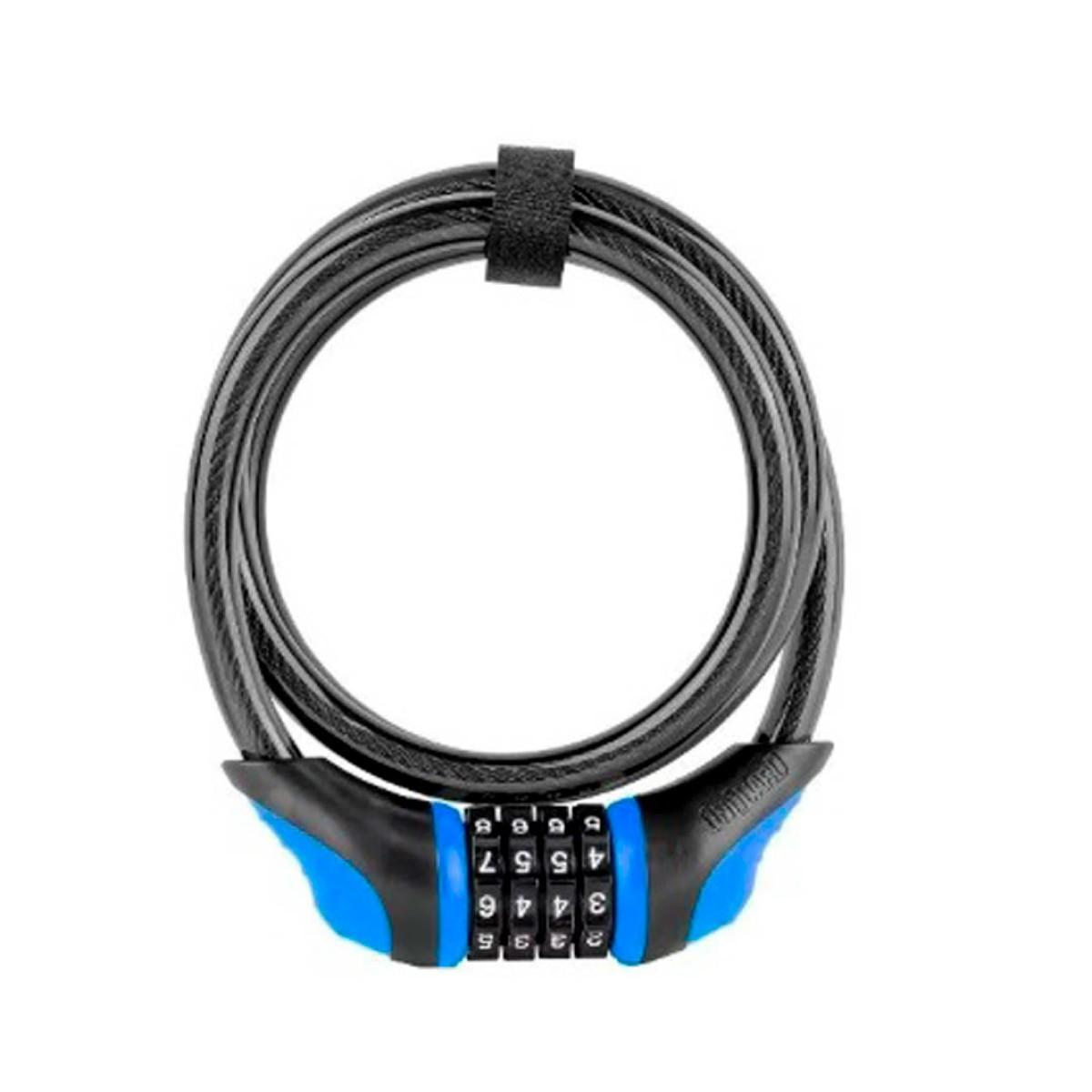 Cadeado Onguard 8169 Neon Segredo Azul
