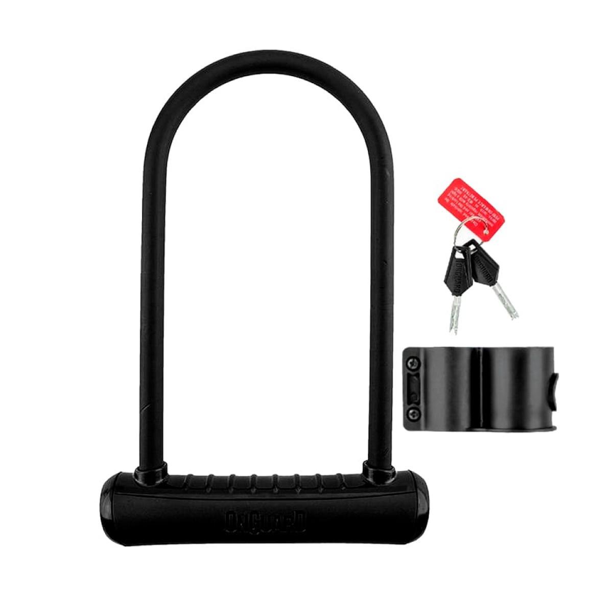Cadeado U-Lock Onguard Neon 8152 Preto