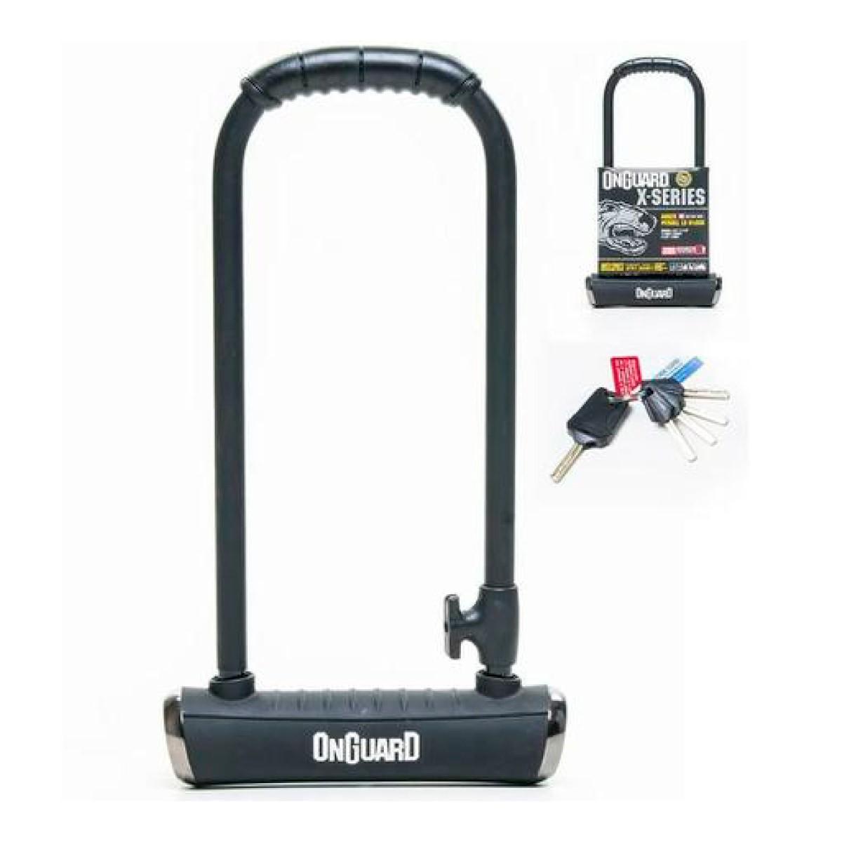 Cadeado U-Lock Onguard Pitbull 8002 Preto