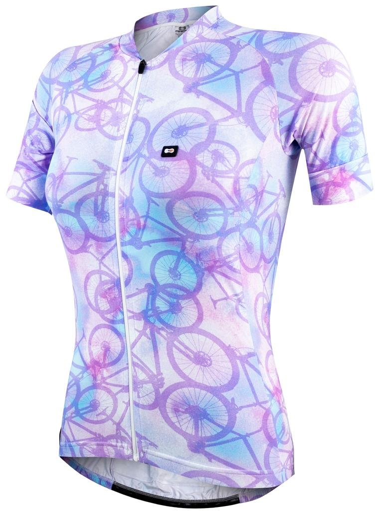 Camisa Fem Marcio May Funny Tie Dye Bikes