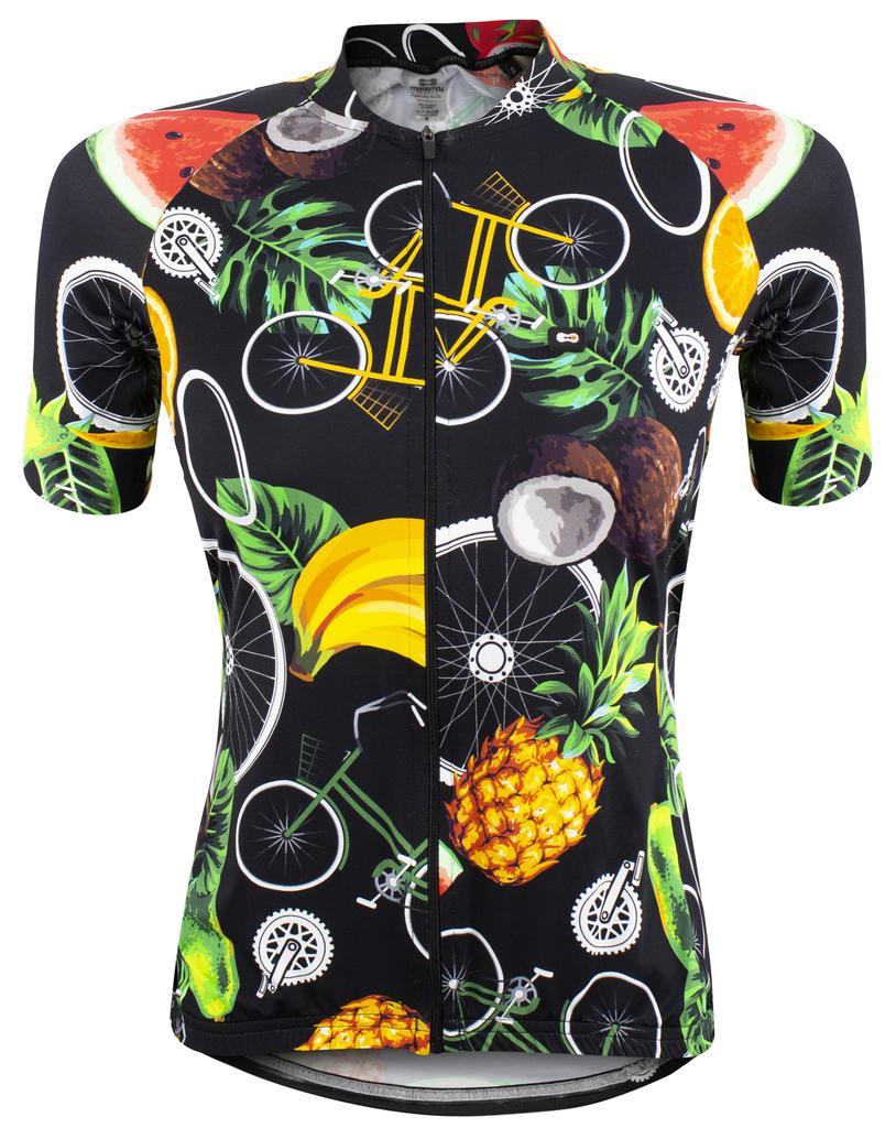 Camisa Fem Marcio May Funny Tropical Bike