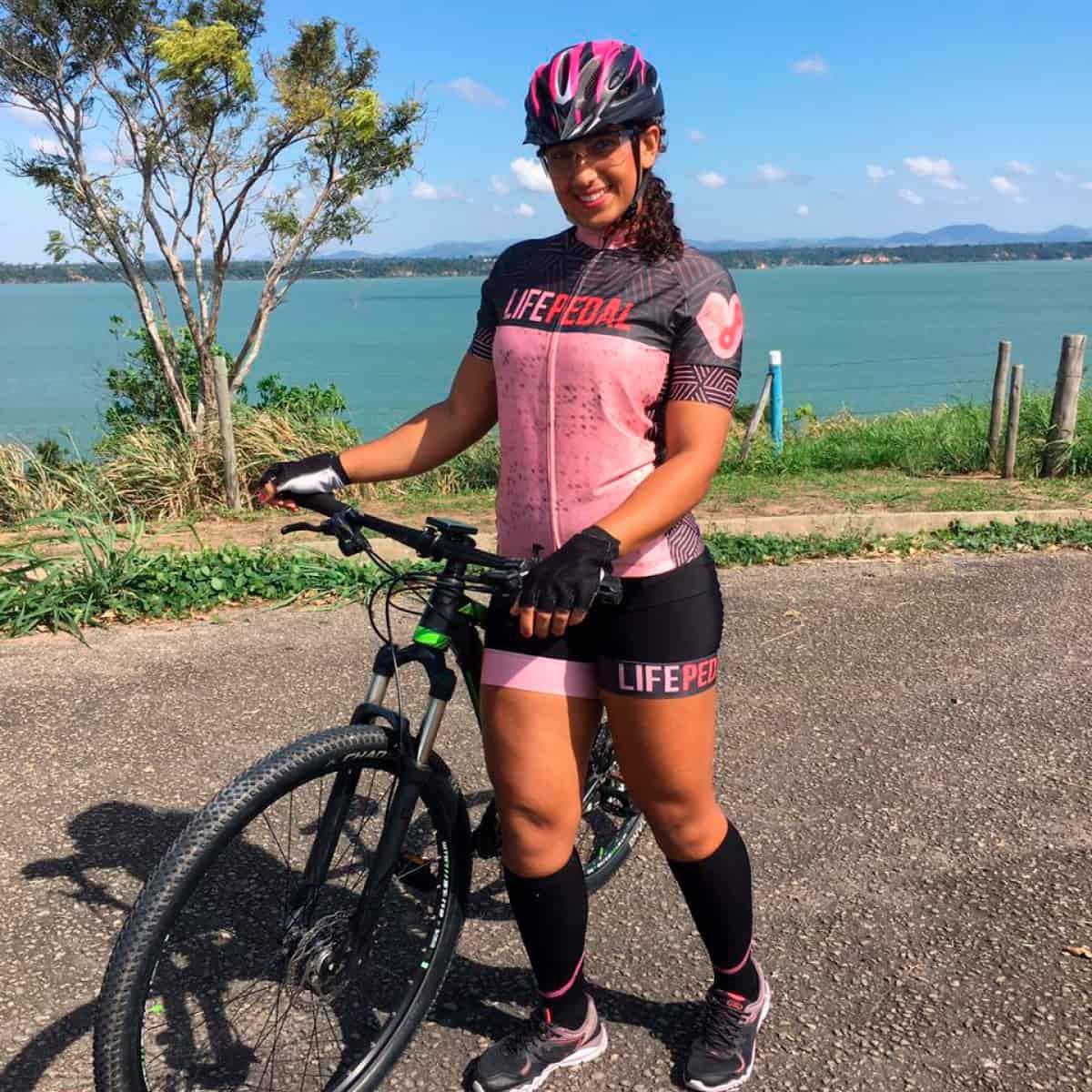 Camisa Life Pedal Feminina Normal