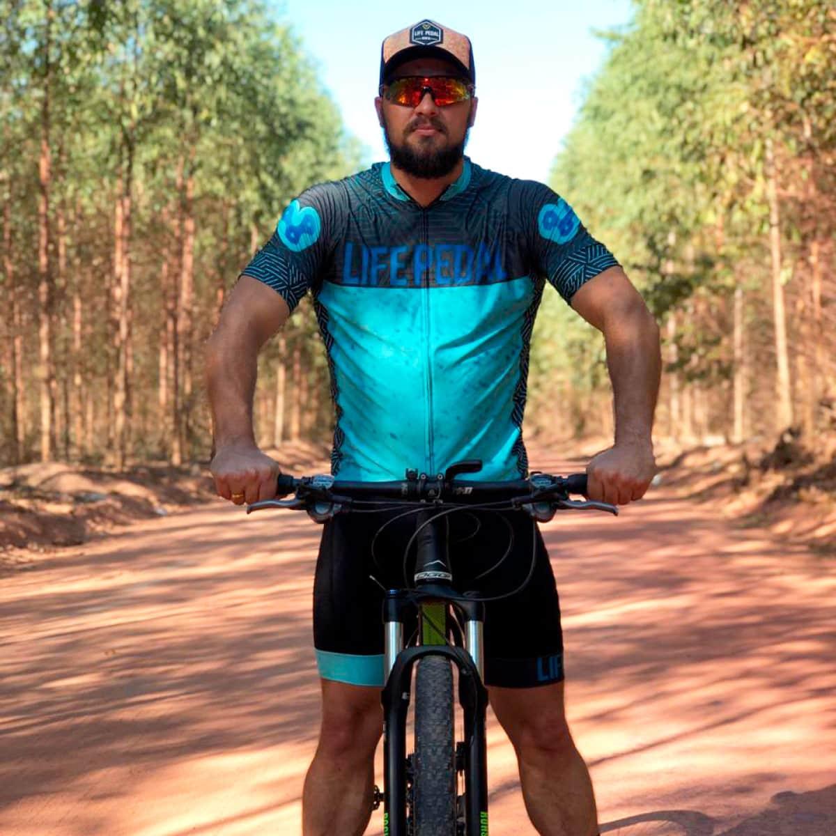 Camisa Life Pedal Masculina Normal