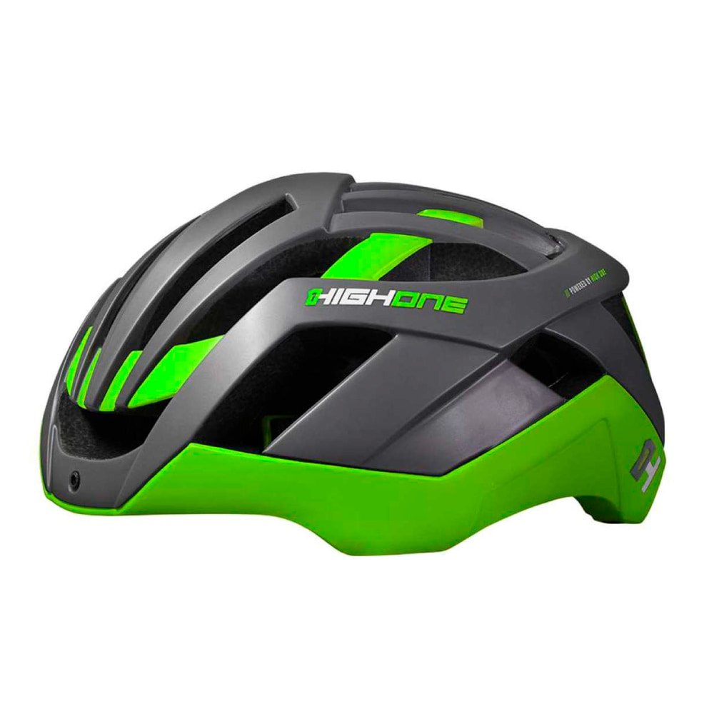 Capacete High One Pro-Space Cinza-Verde