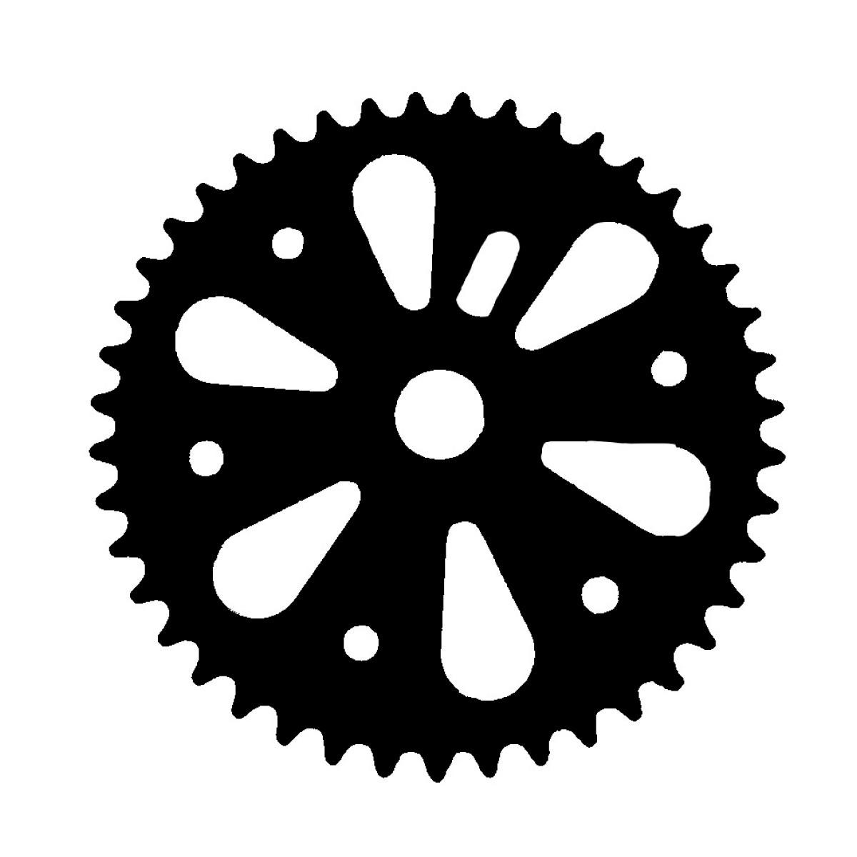 Coroa Projema 40D Spiral Preto