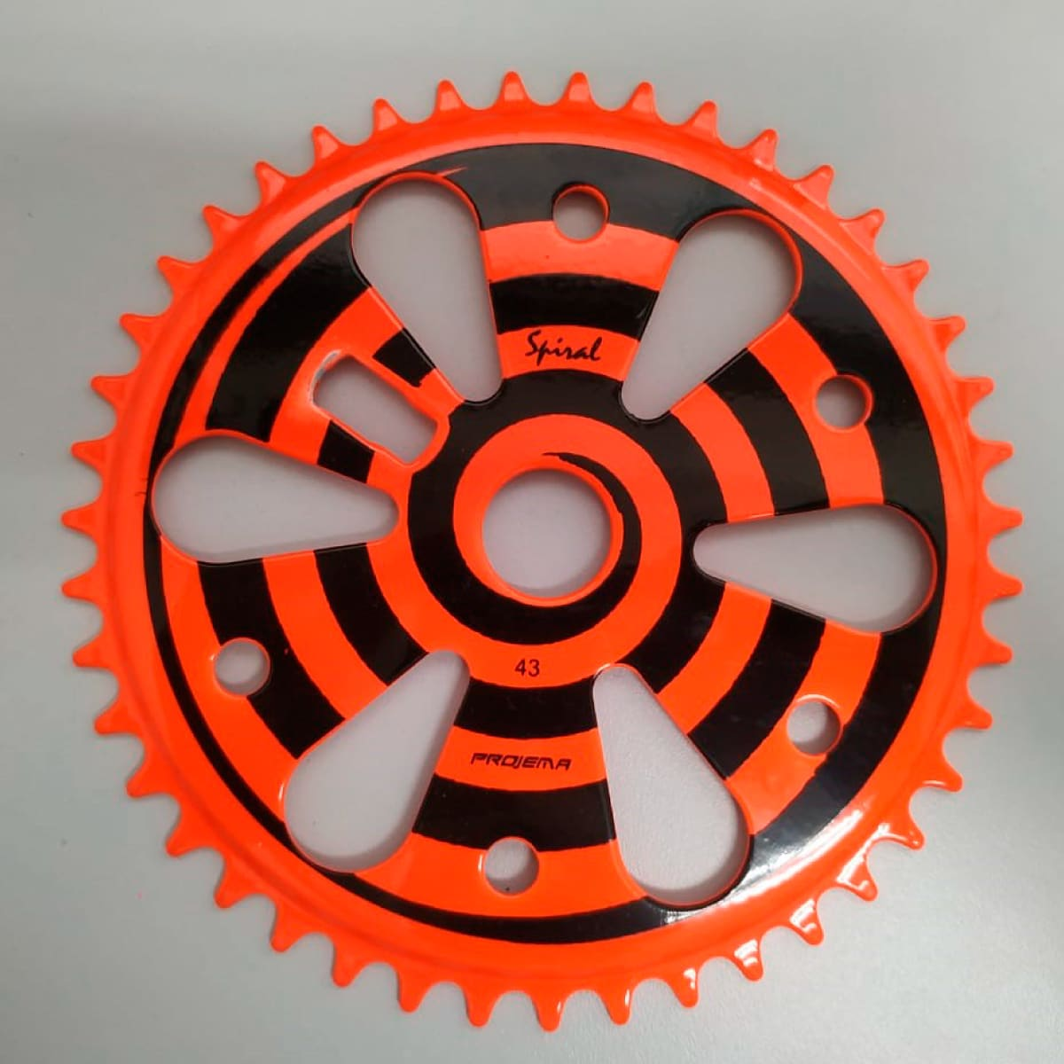 Coroa Projema 43D Spiral Laranja Neon