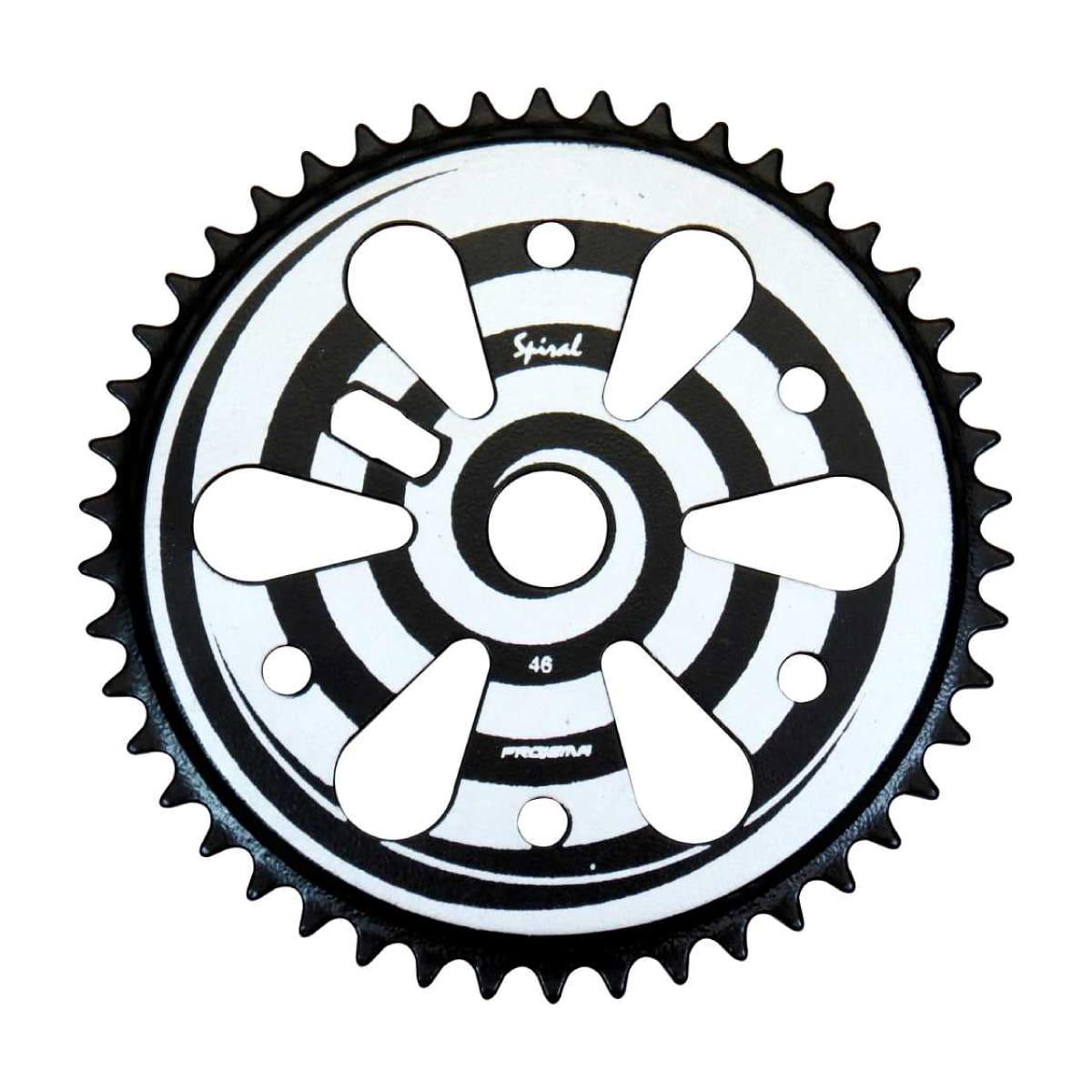 Coroa Projema 43D Spiral Preto e Branco